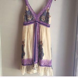 Gorgeous silk Anthropologie dress